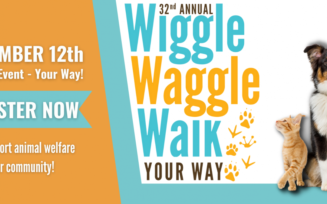Wiggle and Waggle to Support Animal Welfare!